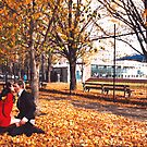 Autumn Kiss by MichaelCouacaud