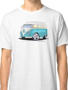 VW Splitty (Custom Blue) Camper Van Classic T-Shirt
