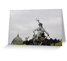 Poseidon Berlin  Greeting Card