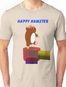 Happy Hamster Unisex T-Shirt