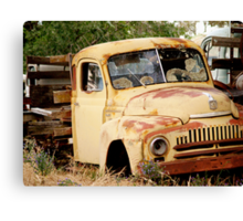 Rust Bucket Canvas Print