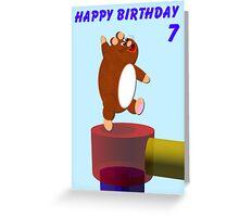 Happy Hamster's Birthday Greeting Card