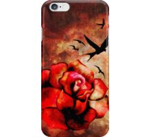 Rosey Inferno iPhone Case/Skin
