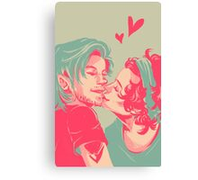 TOO SWEET I MIGHT GET CAVITIES Canvas Print