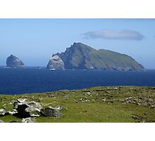 Stac Lee. Stac an Armin and Boreray Photographic Print