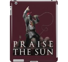 Knight Solaire of Astora - Praise The Sun! iPad Case/Skin