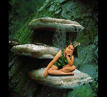 Bored Little Fairy by Mistie McDonald