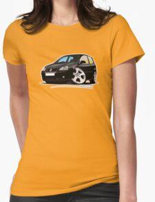 VW Golf GTi (Mk5) Black Womens Fitted T-Shirt