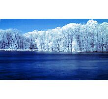 IR Lake Photographic Print