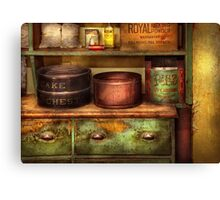 Chef - Kitchen - Food - The cake chest Canvas Print