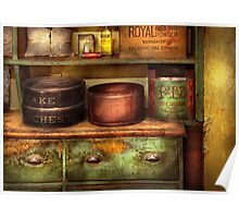 Chef - Kitchen - Food - The cake chest Poster