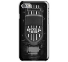 BOSS 302 Engine iPhone Case/Skin