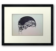 Xenomorph Pen and Ink Framed Print