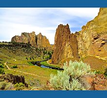 Smith Rocks State Park by gcampbell