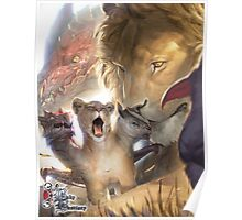 Baby Bestiary - Chimera Cub Poster