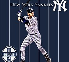 New York Yankees Captain Derek Jeter by Dan Snelgrove