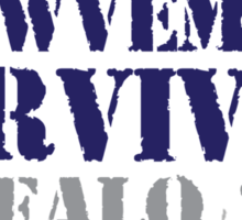 Funny 'Snowvember Survivor Buffalo 2014' Snowstorm Hoodies and Accessories Sticker
