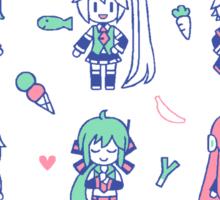 Vocaloid Mix Sticker