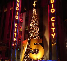 Radio City's 75th by ravenrebirth