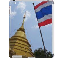 Chang Mai Thailand Flag iPad Case/Skin