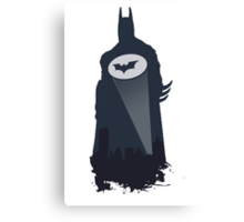 A Bat in the Night! Canvas Print