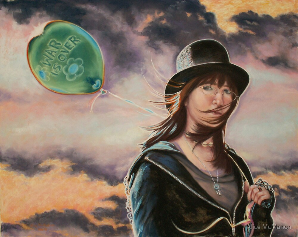 """""""Lucy In the Sky With Diamonds (War Is Over)"""" by Alice McMahon"""