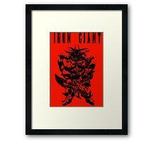 Iron Giant Final Fantasy Framed Print