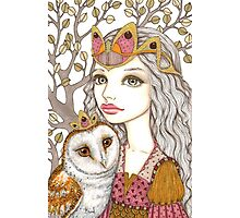 Sisterhood of the white owl Photographic Print