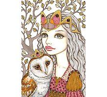 Sisterhood of the white owl Photographic Print