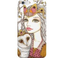 Sisterhood of the white owl iPhone Case/Skin