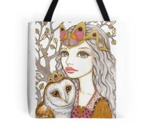 Sisterhood of the white owl Tote Bag