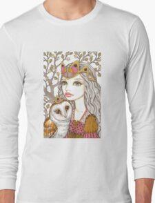 Sisterhood of the white owl Long Sleeve T-Shirt