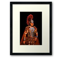 The roman soldier Framed Print