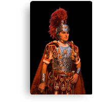 The roman soldier Canvas Print