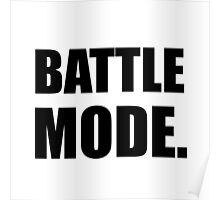 Battle Mode Poster