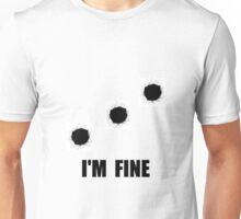 Bullet Holes Fine Unisex T-Shirt