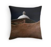 Mission Storm Throw Pillow
