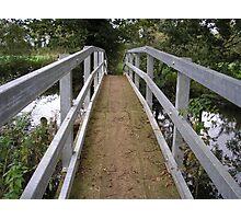 It's Water Under the Bridge Photographic Print