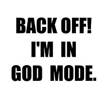 God Mode by TheBestStore