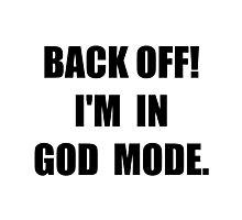 God Mode Photographic Print