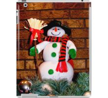 Frosty Is Ready For Christmas iPad Case/Skin