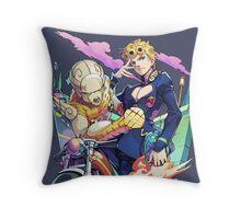 Giorno Giovanna - GOLD EXPERIENCE! Throw Pillow