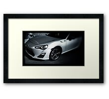 My FRs pic Black and White Framed Print