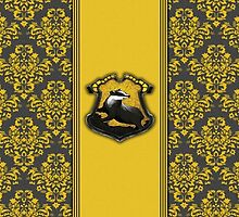 Hufflepuff Ribbon ver. 2 by Serdd