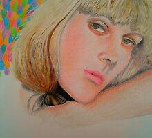 Blonde Bombshell by Phu-Linh Tran