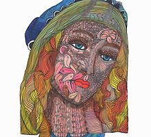 Based on a painting of MADONNA by Sandros Botticelli by Barbara Callahan by BCallahan