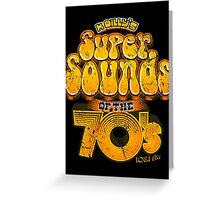 K Billy's Super Sounds of the 70s Greeting Card