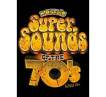 K Billy's Super Sounds of the 70s Photographic Print