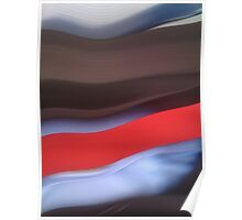 HP Sauce Abstract Poster