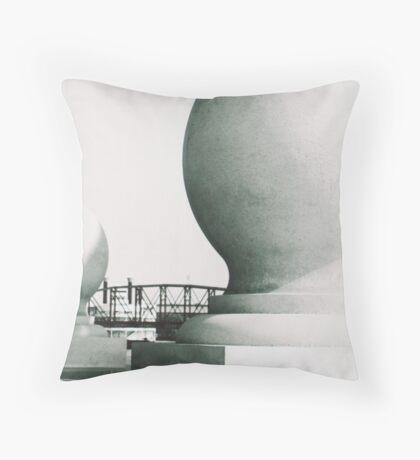 Lousiana Boardwalk II Throw Pillow